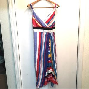 Anthropologie Tracy Reese striped maxi dress